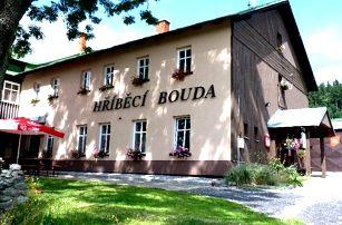 Pobyt v Krkonoších, polopenze, wellness a půjčení kola. Večeře výběrem ze dvou menu.