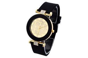 Dámské silikonové hodinky Geneva Crystal