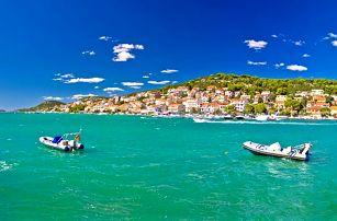 10–12denní pobyt s dopravou i ubytováním pro 1 osobu na chorvatském ostrově Murter