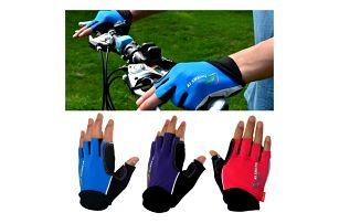 Cyklistické rukavice pro pány i dámy - mix barev