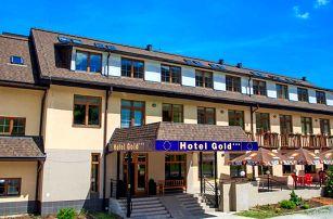 Ultra last minute v hotelu Gold*** se snídaní, kousek od NP Malé Fatry