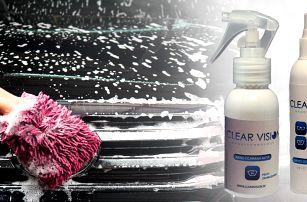 Nanotechnologické přípravky CLEAR VISION na ochranu skel a plastů do auta,…