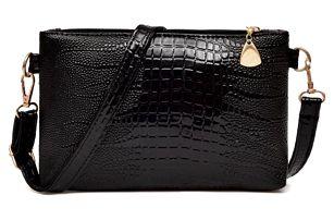 Malá kabelka s krokodýlím vzorem - 6 barev