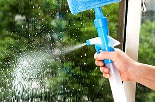 Čistič oken s rozprašovačem - 3 barvy