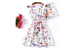 Rozmanité letní šaty - Vzor: 4 - Velikost: 3