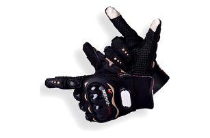 Rukavice na motorku bez prstů, s prsty nebo s prsty na dotykovou obrazovku - 18 variant