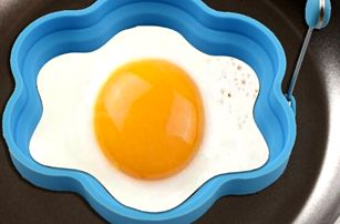 Silikonová forma na vajíčka - 4 barvy