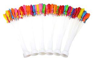 6 svazků barevných balónků = 222 balónků