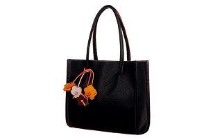 Retro kabelka do ruky - mnoho barev - černá