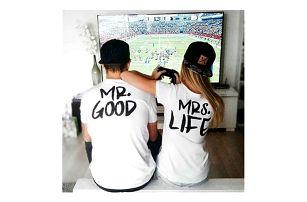 Tričko pro dvojici MR. GOOD a MRS. LIFE