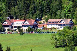 Podzim v hotelu Podlesí s polopenzí, bazénem a vstupem do pohádkové vesničky