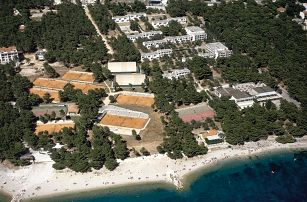 Chorvatsko - Makarska na 8 dní, polopenze s dopravou letecky z Prahy