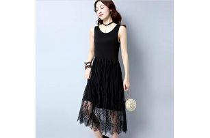 Lehké letní krajkové šaty