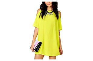 Dámské šaty s odhalenými rameny - 4 barvy