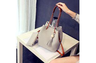 Set kabelky a taštičky - 4 barvy