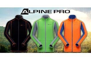 Pánské funkční mikiny Alpine Pro