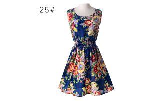 Rozmanité letní šaty - Vzor: 15 - Velikost: 3 - dodání do 2 dnů
