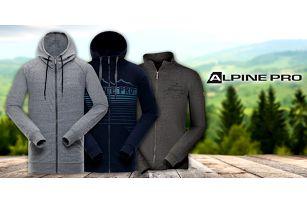 Pánské mikiny Alpine Pro