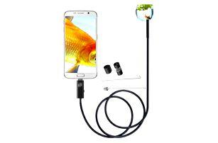 Kvalitní endoskop pro Android s osvícením - 2 m - dodání do 2 dnů