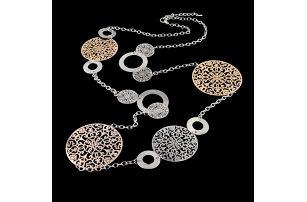 Robustní náhrdelník na krk