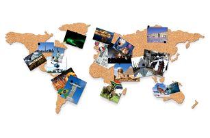 Korková mapa světa