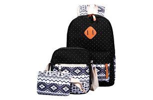 Sada - batoh, taška přes rameno a malá taštička - dodání do 2 dnů