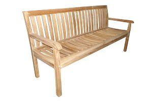 Kingsbury teaková lavice 180 cm (zahradní nábytek teak)