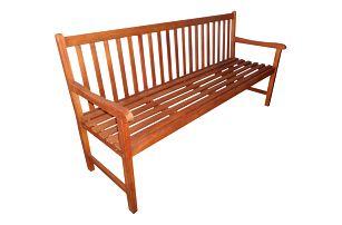 Viet eukalyptová lavice 150 cm (Zahradní lavice z eukalyptu)