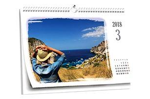 Stolní či nástěnné kalendáře z vašich vlastních fotografií, připravte si dárky s předstihem.