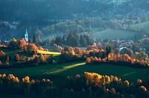 Podzimní dovolená na Šumavě včetně polopenze