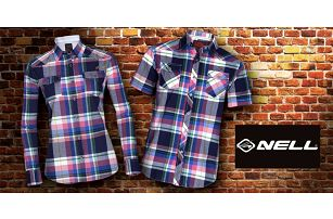 Pánská a dámská kostkovaná košile Nell