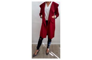 Dámský podzimní kabát Clarice