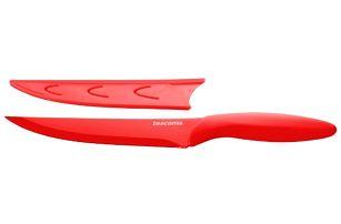 TESCOMA antiadhezní nůž porcovací PRESTO TONE 18 cm, červená