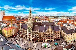 Výlet do Mnichova: pobyt pro dva se snídaní