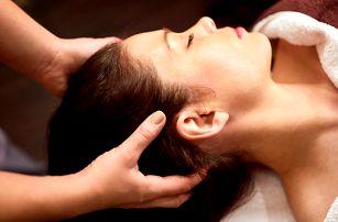 Indická antistresová masáž hlavy včetně obličeje
