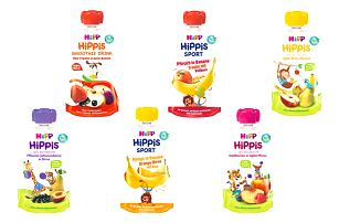 HiPP HiPPiS BIO Kolekce na výlet (3x120 g + 3x100 g) - ovocný příkrm
