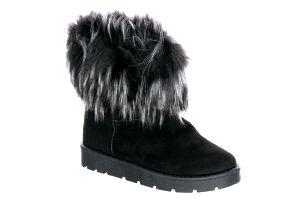 Modern World Dámské zimní válenky Winter Boots s kožíškem sněhule