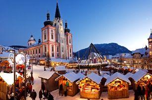 1denní adventní zájezd pro 1 osobu s CZ AD dopravní. Běh čertů a prohlídka města Mariazell.