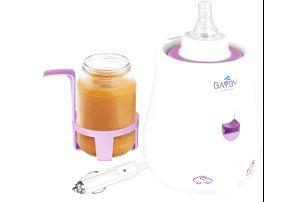 BAYBY Ohřívač kojeneckých lahví Car/Home