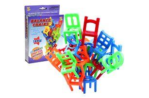Populární hra Stohovatelné židle