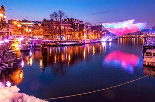 Rozzářený vánoční Amsterdam: 1x nocleh se snídaní