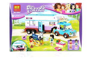 BELA Friends Kamion na přepravu koní - 387 ks