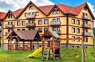 Slovenské hory až pro 4 osoby v apartmánech