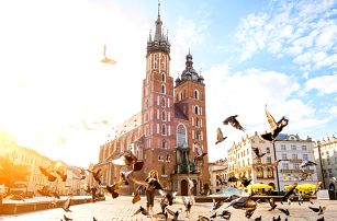 Pobyt v historickém Krakově se vstupem do bazénu
