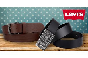 Pánské kožené pásky Levi's: 21 variant designu