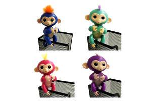 Interaktivní opičky Fingerlings