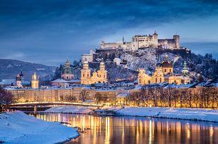 Adventní trhy v Salzburgu a průvod čertů v Gollingu 4. 12. 2017