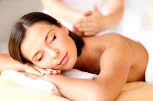 60min. relaxační masáž zad a šíje