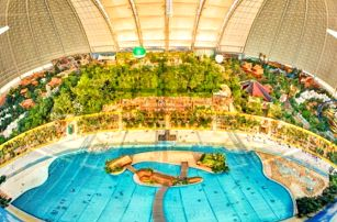 Německo, Aquapark Tropical Islands: výlet pro 1 osobu na 1 den