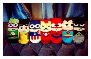 Chlapecké ponožky Hrdinové